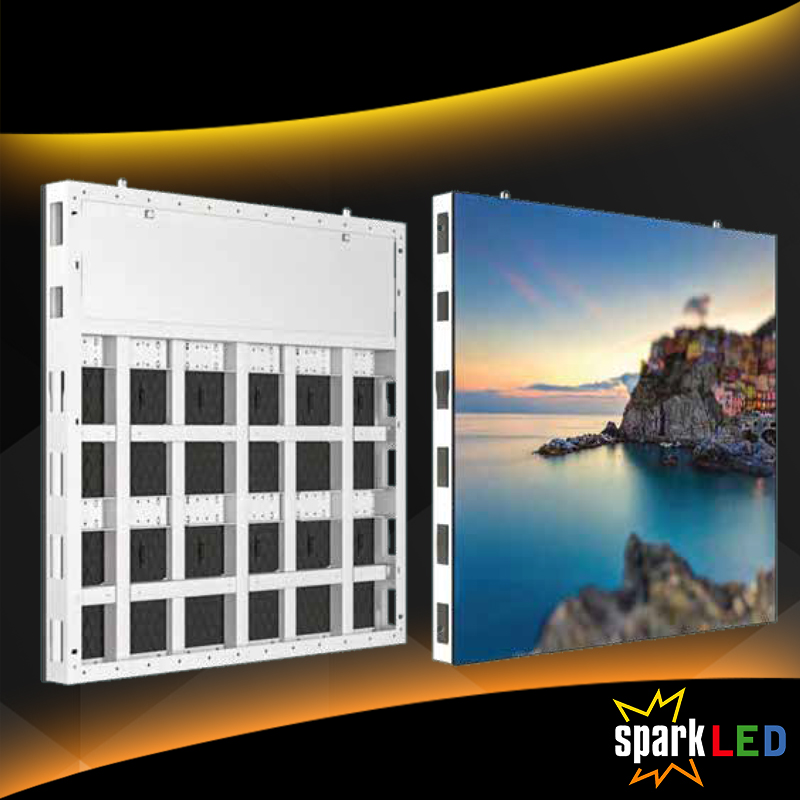 SparkLED Aluminum LED Screen Cabinet