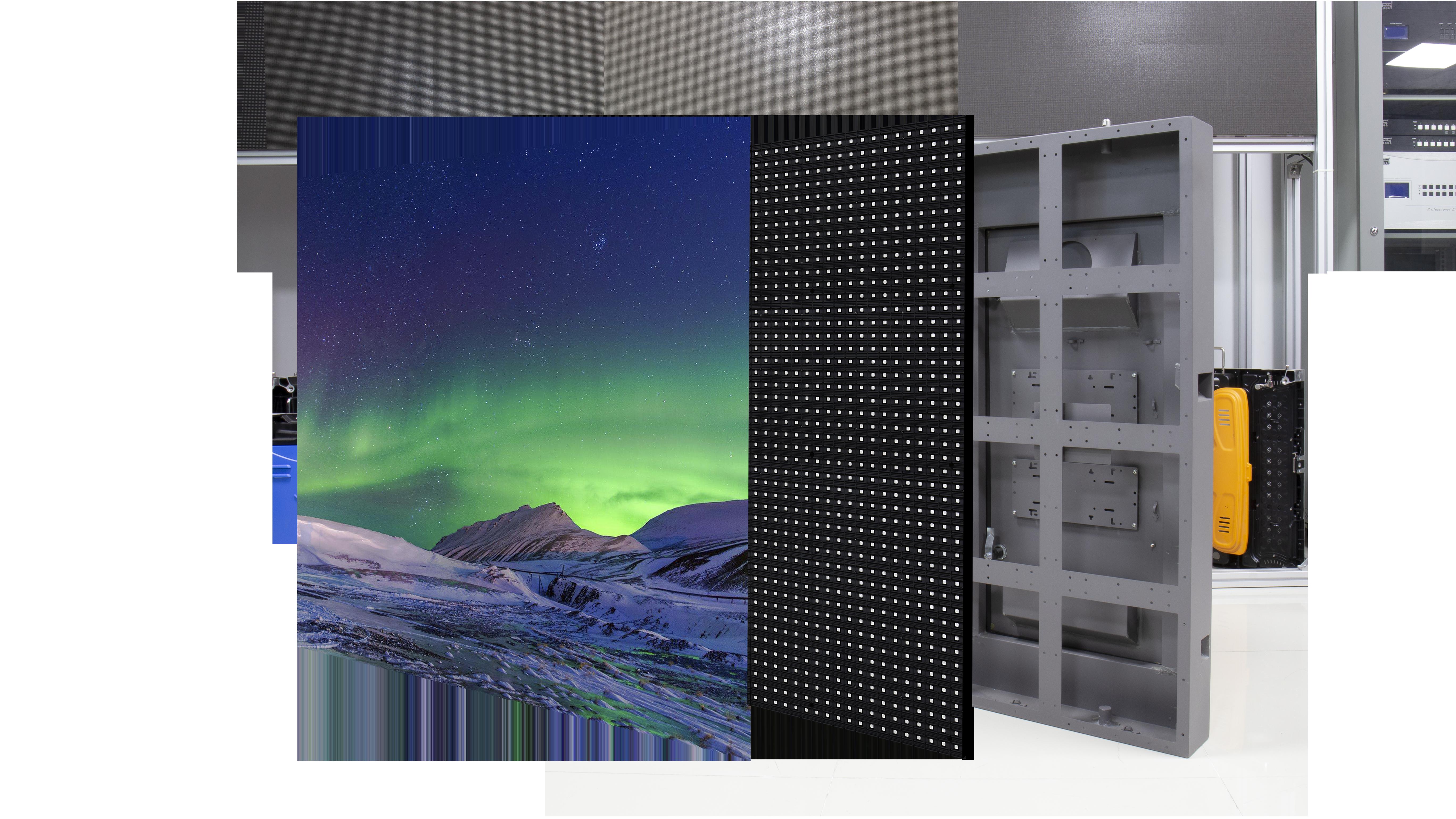 SparkLED Digital Screen Cabinet